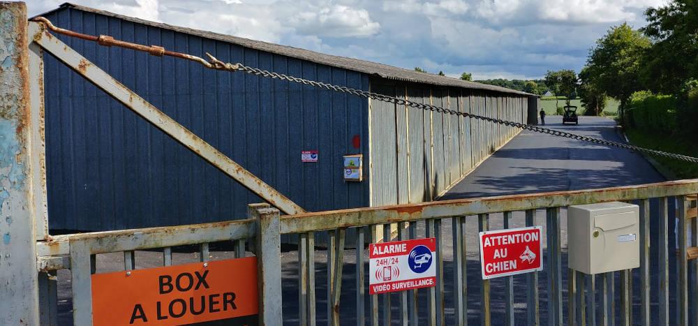 Box sécurisé et bitumés proche du Mans